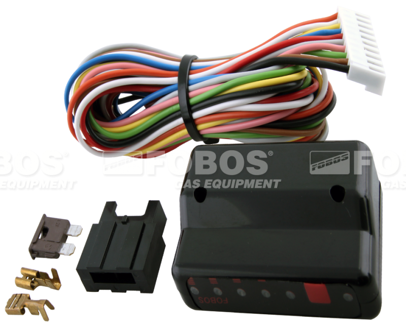 Automatic gas/ petrol change-over switch with a level indicator and  integrated emulators